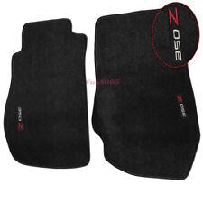 Fits 03-09 Nissan 350Z Floor Mats Carpet Nylon Black W/ 350Z Embroidery