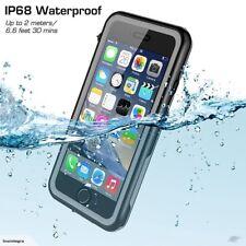 For iPhone 7 Plus Case 360 Shockproof Waterproof Underwater Swimming Cover IP68