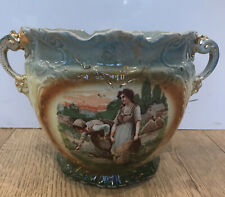 A G Harley Jones 1907+ Mark Large Jardiniere / Trophy Plant Pot St Flint Gods