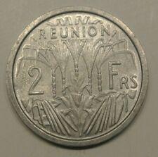 REUNION  2 FRANCS  alu   1973  FDC  RARE a saisir !
