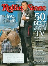 2010 Rolling Stone Magazine: Stephen Colbert/50 Best Reasons to Watch TV