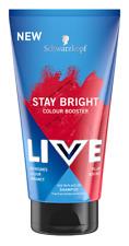 Schwarzkopf Live Stay Bright Colour Booster Shampoo PILLAR BOX RED 150ml