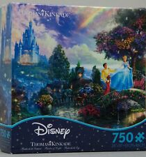 Disney Thomas Kinkade Cinderella Wishes Upon a Dream 750 Piece Puzzle NIB