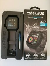 Catalyst Waterproof Case for Apple Watch 44mm Series 4 - Black/Gray Band