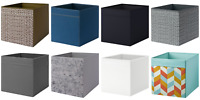 4X IKEA Drona Storage Boxes Magazine Kallax Shelving Shelf Box Folding Organiser