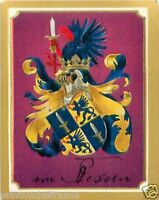 Hans Hartwig von Beseler General Germany Armoiries Coat of Arms IMAGE CHROMO 30s