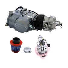 LIFAN 125cc 4 Stroke Kick Manual Engine Motor 4 Speed Carb Air Filter Dirt Bike