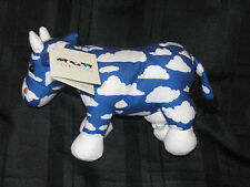 COW PARADE SKY BLUE WHITE CLOUD WESTLAND GIFTWARE STUFFED PLUSH BEAN BAG TOY NEW