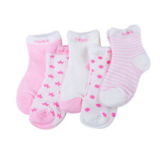 Fashion 5 Pairs Baby Boy Girl Cotton Cartoon Socks Toddler Kids Soft Sock  E ST