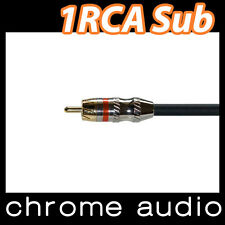 Subwoofer Cable 1 RCA 6m
