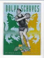 2012-13 Dolph Schayes #/25 Panini Crusade Syracuse Nationals Refractor