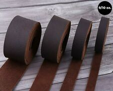 "Wd-47 Brown Tooling Leather Straps 1/2"" to 4"" Wide, 68-72 Inches Long 9/10 oz."