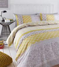 Parures et housses de couette jaunes contemporains pour Taie d'oreiller