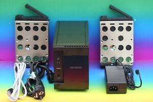 Netgear ReadyNAS RN10200-100 RN102 Cloud Media Server Video NAS 2x 1TB Festpl.