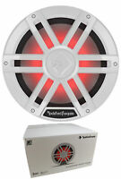 """Rockford Fosgate White 12"""" 1200W Dual 2 Ohm Switchable Marine Subwoofer M1D2-12"""