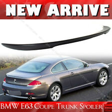 Unpainted For BMW 6 Series E63 Coupe V Trunk Spoiler ABS 650i 650Ci 04-08
