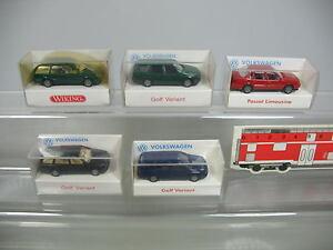 AF81-0, 5 #5x wiking H0 Car Volkswagen VW : 043 Passat Variant, Etc. , Mint +Box