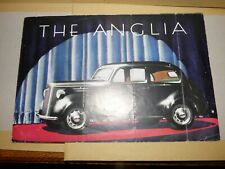 """FORD """"THE ANGLIA"""" SALES BROCHURE 1947"""