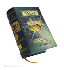 "signo Tauro en español new collectible small 2.65"" tall book easy to read hardcv"