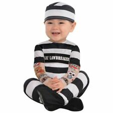 Dress up Lil' Law Breaker Baby Costume 0-6 Months