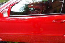 2004 Mercedes-Benz C230 2D Front driver door SHELL 2037200505 MARS RED EXCELLENT