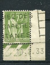 FRANCE 1932-33 timbre 284A, type PAIX, oblitéré
