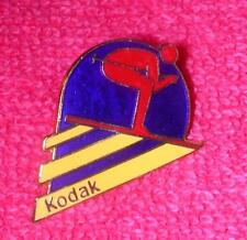 Kodak Downhill Skiing Sport 1983 Olympic Pin 1984 Games