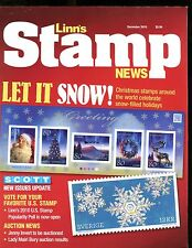 Linn's Stamp News Magazine December 2010 Christmas Stamps EX No ML 011717jhe