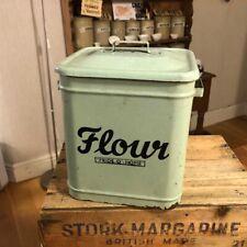 More details for vintage green  'pride o' home' flour bin – kitchenalia - great! –