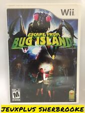 Escape From Bug Island (Nintendo Wii, 2007) (COMPLETE IN BOX)