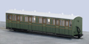 PECO 009/Hoe Gauge Rolling Stock L & B Brake Composite Passenger Coach SR