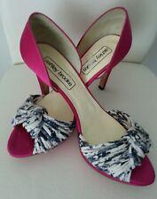 Pumps High Heels Designer Schuhe v. Ashley Brooke  Heine pink  Gr. 40 Event