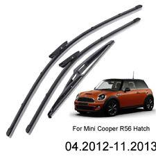 3Pcs/set Front Rear Windshield Wiper Blades For Mini Cooper R56 Hatch 2012 2013