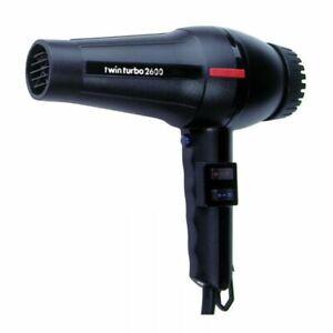 Parlux Twin Turbo 2600 Hair Dryer Black