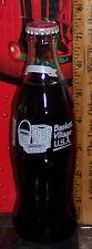 1994 BASKET VILLAGE U.S.A. DRESDEN OHIO 8 OUNCE GLASS COCA - COLA  BOTTLE