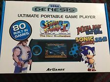 SEGA Genesis Ultimate Portable Game Player 80 Games Including Street Fighter 2