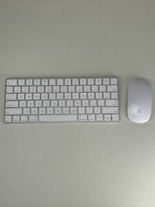 Apple Magic Keyboard A1644 Magic Mouse A1296 Working!