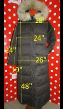 ICEBERG sz 44 us12 L puffer coat fur down jacket hood women