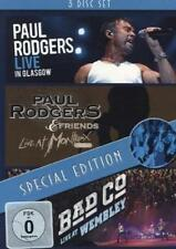 Paul Rodgers-Glasgow/Montreux 1994/Wembley (3 DVD Set) Neu!