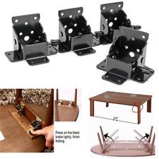Copper Locking Folding Bracket Folding Table Leg Hinges Furniture Hardware DIY S