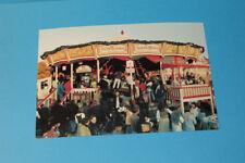 Ansichtskarte Postkarte Kirmes Volksfest Karusell Krinoline! RARITÄT! NEU/ MINT!