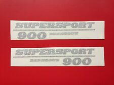 DUCATI 900SS FULL  FAIRING DECAL STICKER GRAPHICS/ PAIR LEFT AND RIGHT SIDES