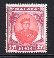 Johore (Malaya) 35 Cent Stamp c1949-55 Unmounted Mint Never Hinged (6118)