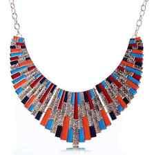 Collier Fantaisie Necklace Plastron Doré Pour Femme Fille Mode Neuf Fashion Chic