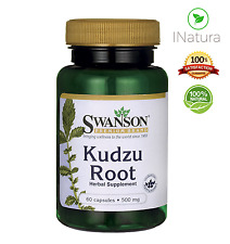 100% Natural KUDZU ROOT for Women's Health with Isoflavones 500MG - 60 Capsules