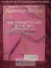 Saturday Review August 1 1970 GORDON RATTRAY TAYLOR WALLACE STEGNER JOHN MEARNS