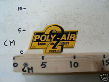 STICKER,DECAL POLY-AIR 2 DOUBLE FOAM-AIR FILTERS HOLLAND OSS 10 CM