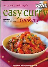 Australian Women's Weekly EASY CURRY COOKERY 2002 vgc free post  breads & sides
