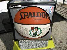 Spalding Limited Edition Boston Celtics Basketball NBA Championships 1957 - 1986
