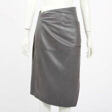 Pauw Leather Wrap Skirt Size 3 | AU 12/14